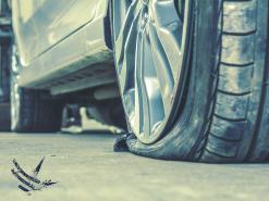 pneu furado: reparo ou substituição